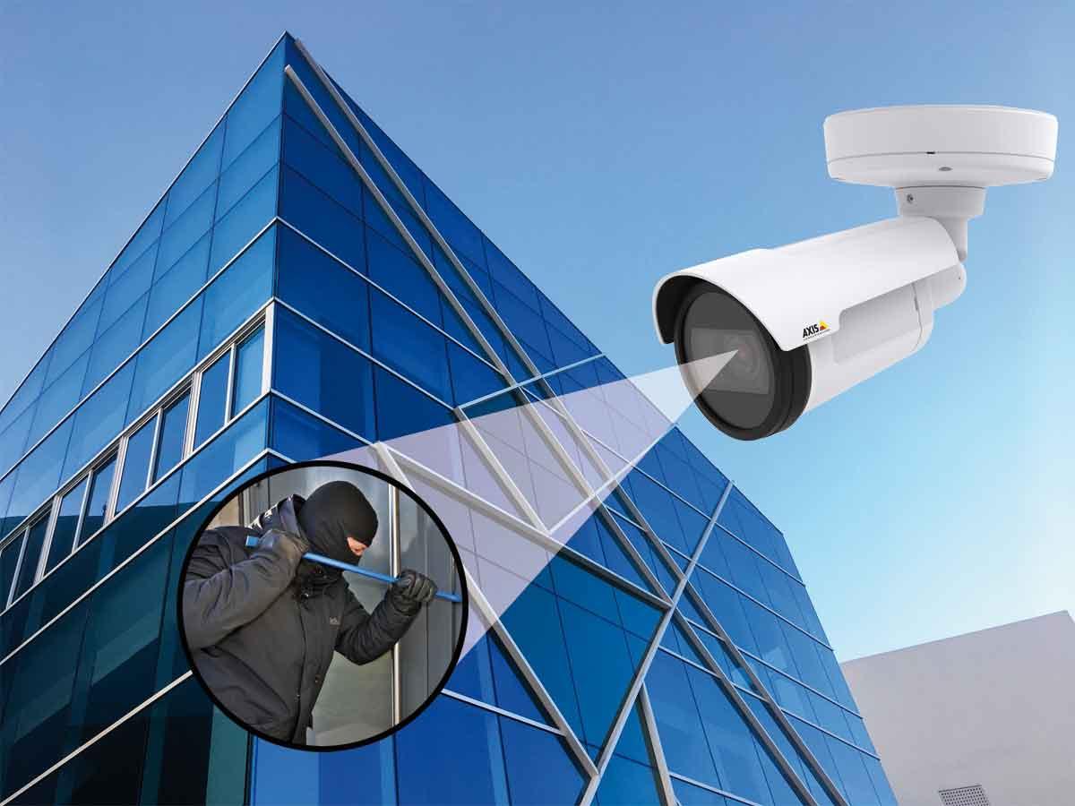 AXIS Kameras für Gewerbe und Privat
