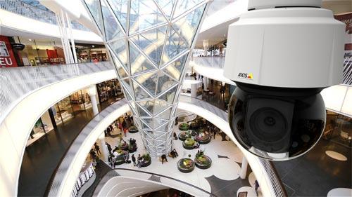 AXIS-Q61-Einkaufscenter